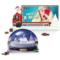"System Adventskalender Standardform ""Weihnachtstruck"""