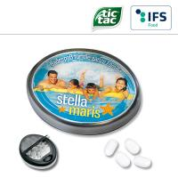 Snap-Master-Dose mit tic tac - 1-farbig
