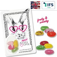 Sweet Card mit American Jelly Beans - 1-farbig