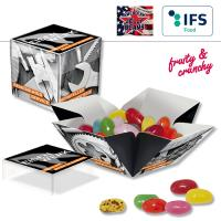 Mini Überraschungs-Box mit American Jelly Beans - 1-farbig