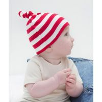 Baby Striped 1 Knot Hat