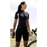 Ladies Bike Full Zip Top