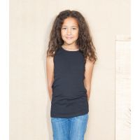 Girls Long Length Vest