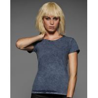 Ladies Denim Effect T-Shirt