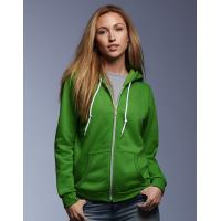 Ladies Fashion Full-Zip Hooded Sweat