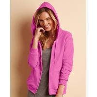 Ladies Heavy Full Zip Hooded Sweat