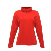 Ladies Micro Zip Neck Fleece