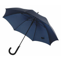 Windproof-Stockschirm WIND - marineblau