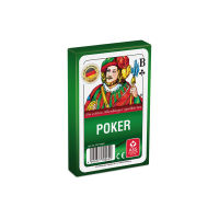Poker / Black Jack, 55 Blatt - in Faltschachtel