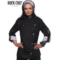 Fashionable Rock Chefs Ladies Jacket