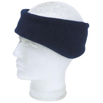 hübsch und bunt Outlet-Verkauf Preis Polar-Fleece-Stirnband BLIZZARD - marineblau