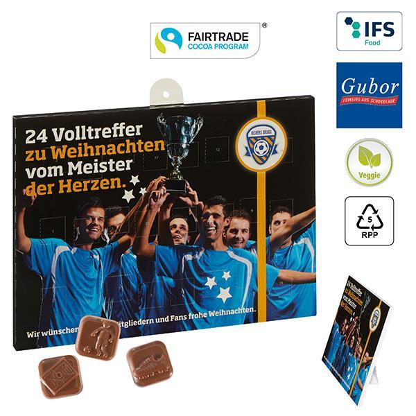 Fussball Schoko Adventskalender Business Bei Werbeartikel Discount Com