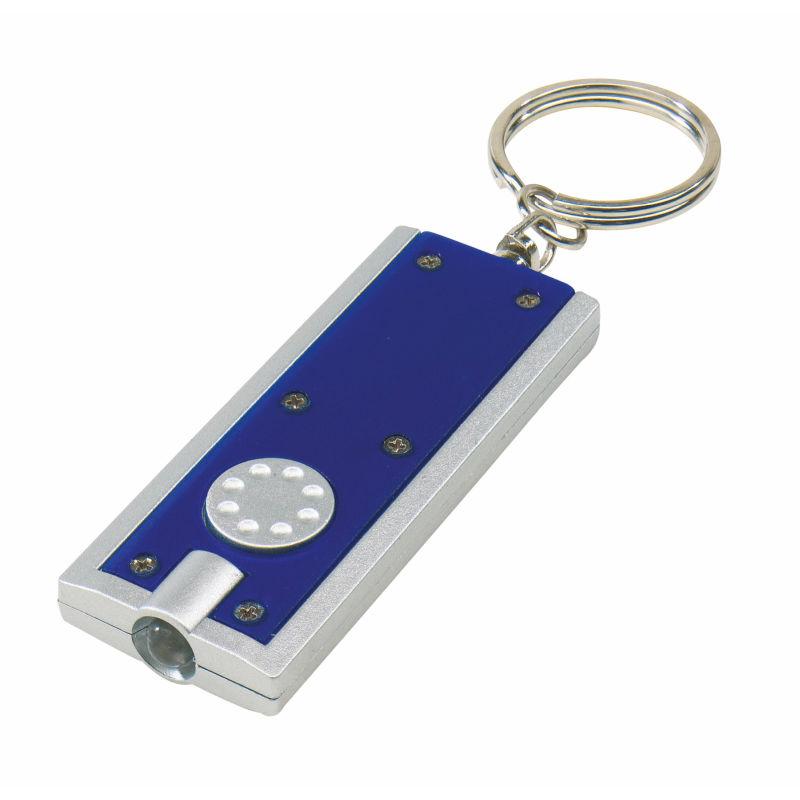LED-Schlüsselanhänger mit Logo-Gravur