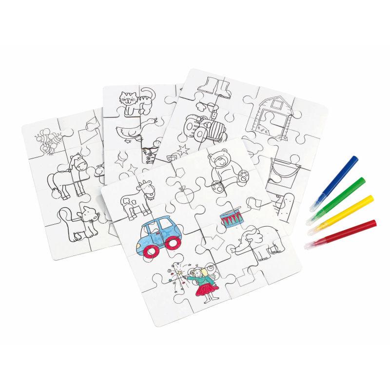 Kinder-Puzzle PAINT YOUR PICTURE - bunt bei werbeartikel-discount.com