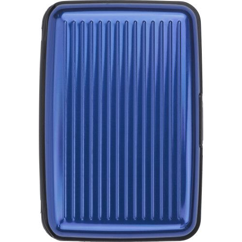 Visitenkartenhalter Suitcase Aus Aluminium Kobaltblau Bei Werbeartikel Discount Com