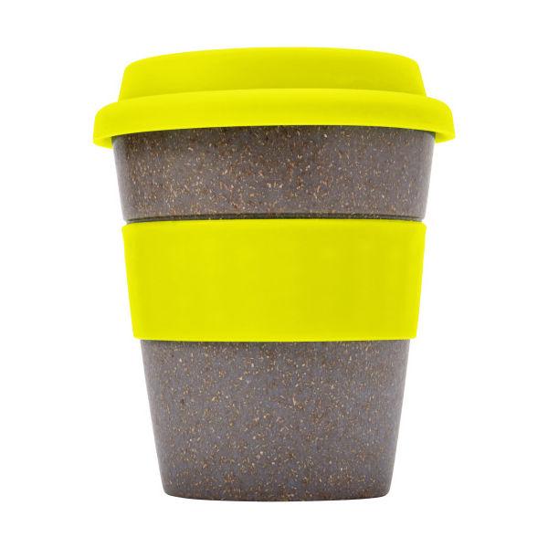 Coffee To Go Becher Bamboo Aus Bambus Gelb Bei Werbeartikel