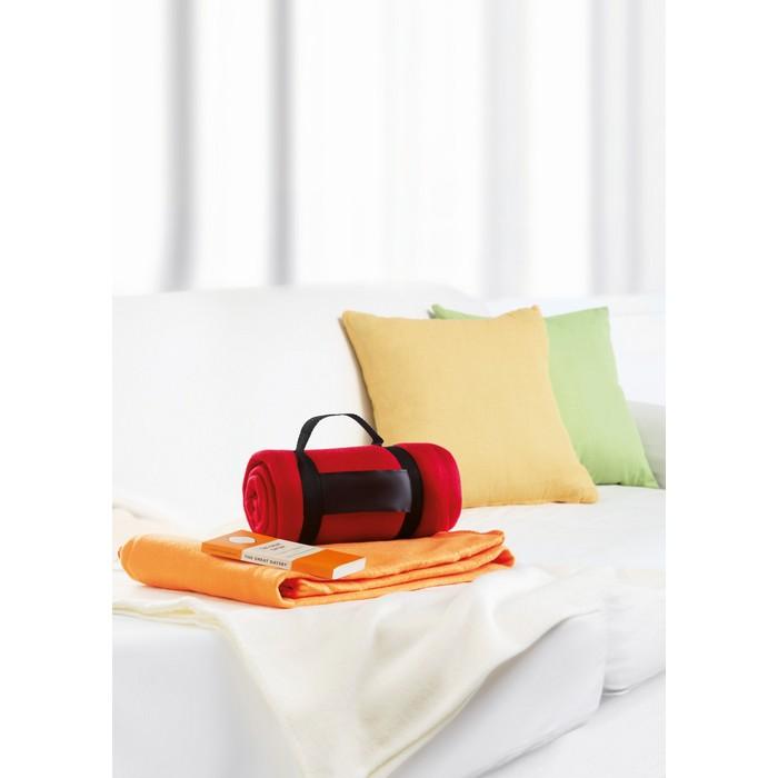 fleece decke stavenger rot bei werbeartikel. Black Bedroom Furniture Sets. Home Design Ideas