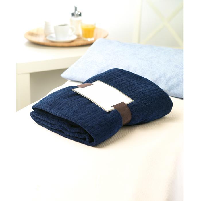 fleece decke cap code blau bei werbeartikel. Black Bedroom Furniture Sets. Home Design Ideas