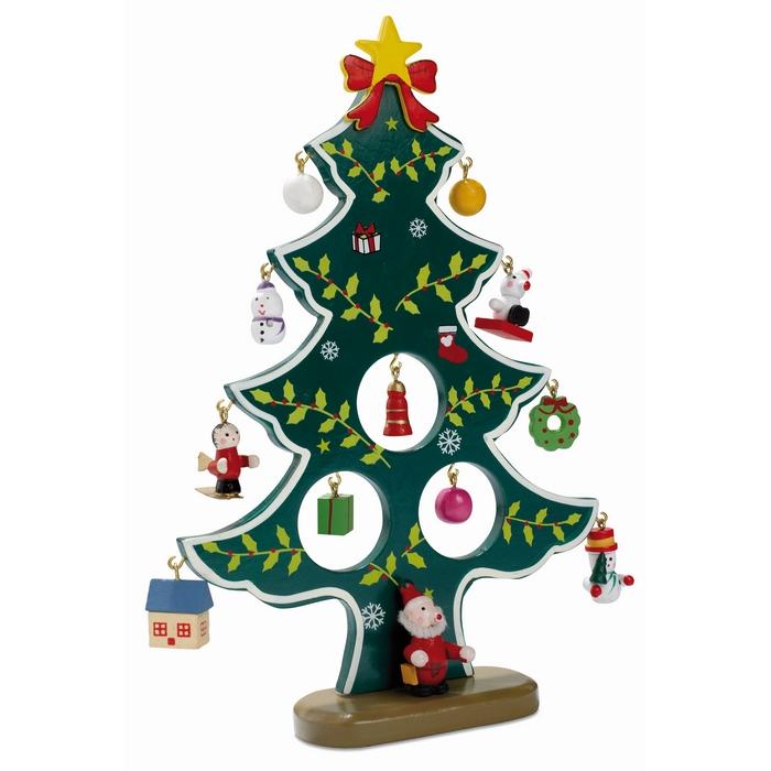 weihnachtsbaum aus holz woodtree gr n bei werbeartikel. Black Bedroom Furniture Sets. Home Design Ideas