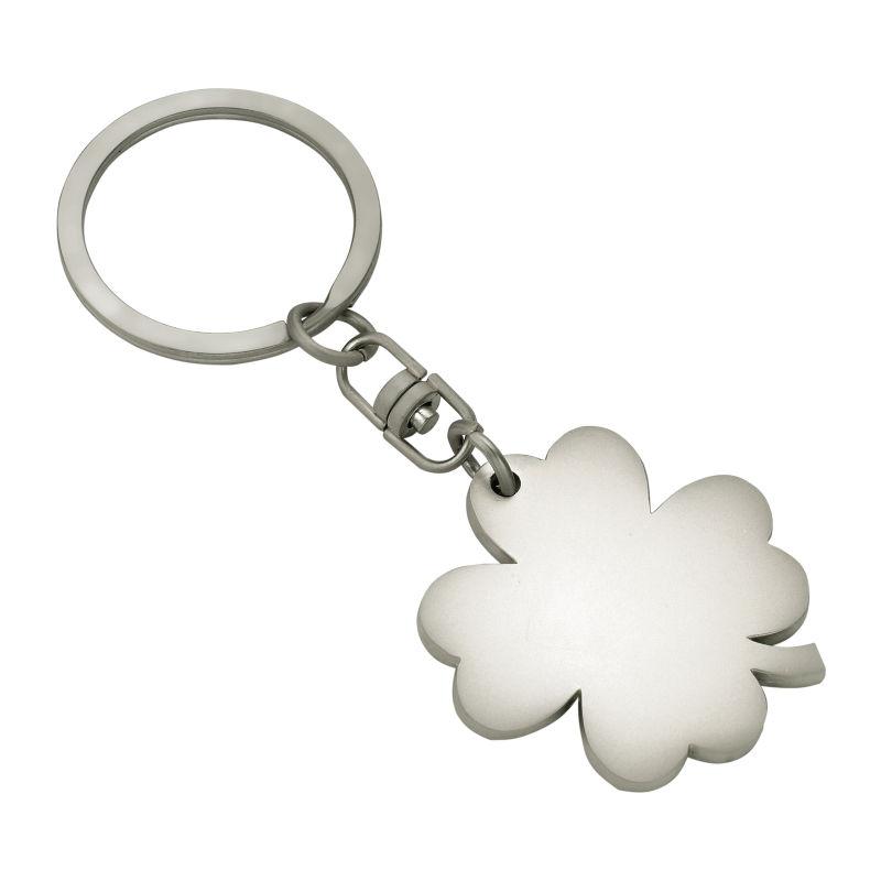 Schlüsselanhänger Herz oder Kleeblatt in matt//glänzend Ø 3,5 cm