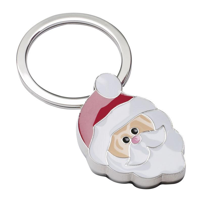 Schlüsselanhänger Reflects-Santa Claus - beige - rot ...