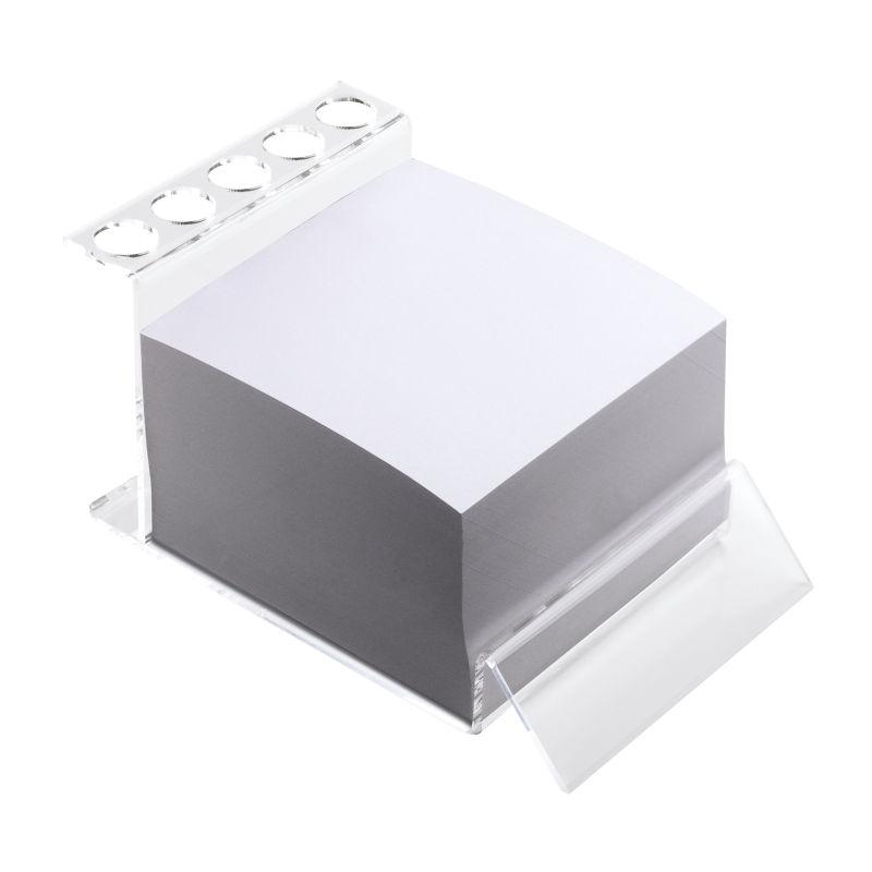 Stifthalter Mit Notizblock Reflects-Dudley - transparent bei ...