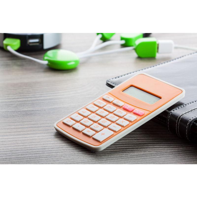 taschenrechner result orange bei werbeartikel. Black Bedroom Furniture Sets. Home Design Ideas