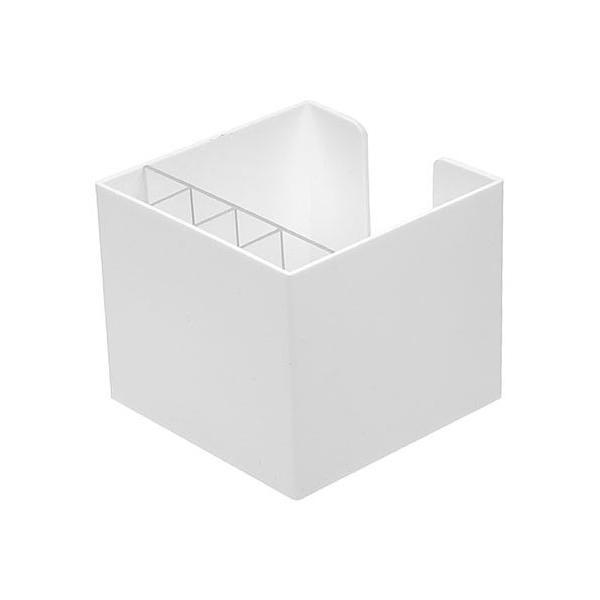 zettelbox ohne papier mit k cher wei bei werbeartikel. Black Bedroom Furniture Sets. Home Design Ideas