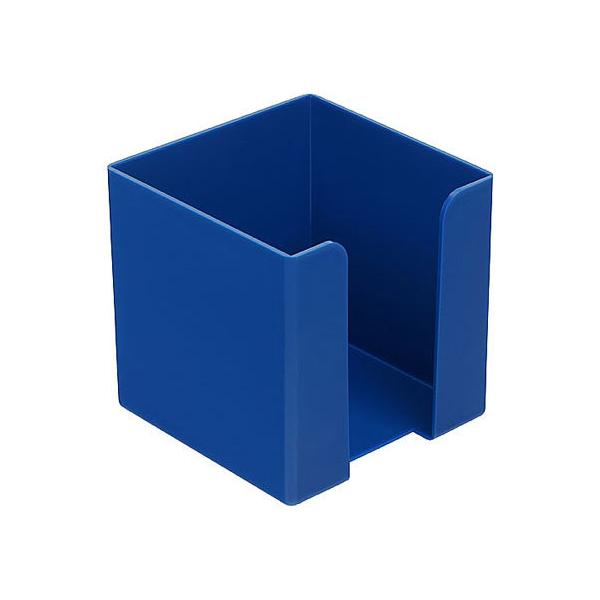 Zettelbox (ohne Papier, mit abgerundeten Ecken)  blau bei