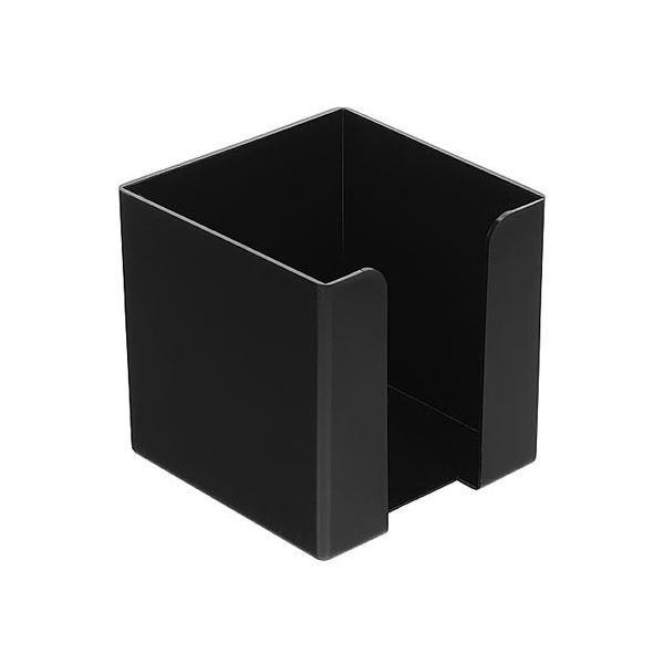 Zettelbox (ohne Papier, mit abgerundeten Ecken)  schwarz