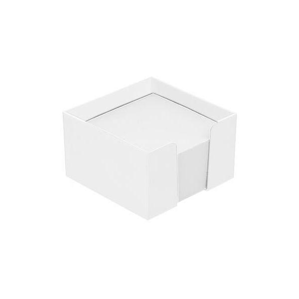 zettelbox mit papier wei 347011rcpc 0 bei werbeartikel. Black Bedroom Furniture Sets. Home Design Ideas
