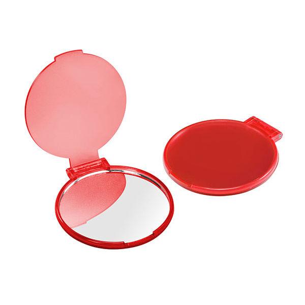taschenspiegel rot transparent bei werbeartikel. Black Bedroom Furniture Sets. Home Design Ideas