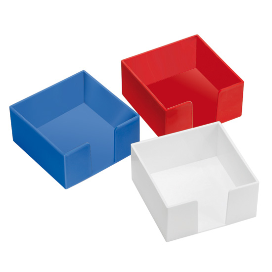 zettelbox ohne papier wei 347011rc 0 bei werbeartikel. Black Bedroom Furniture Sets. Home Design Ideas