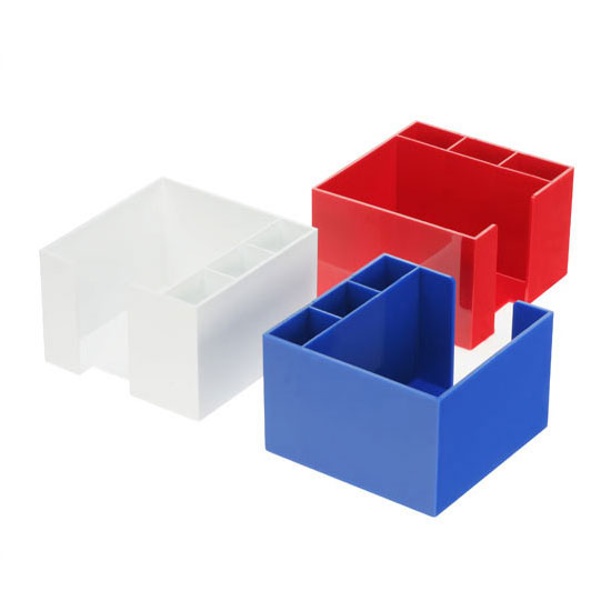 zettelbox ohne papier wei 347298 0 bei werbeartikel. Black Bedroom Furniture Sets. Home Design Ideas