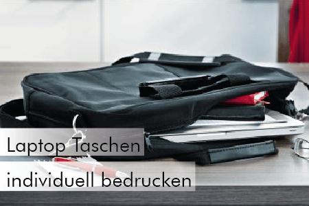 Laptop Taschen individuell bedrucken